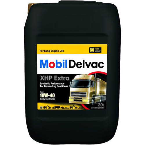 Моторное масло Mobil Delvac XHP Extra 10W-40 20L